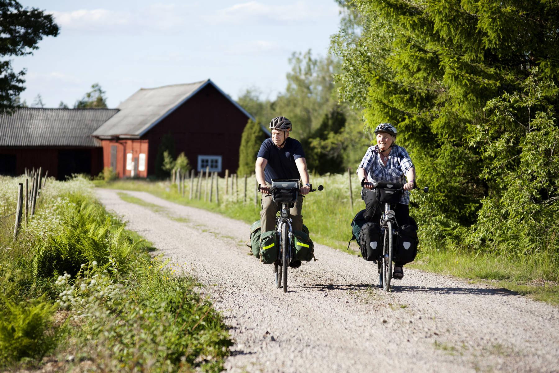Cykeltur genom idyll