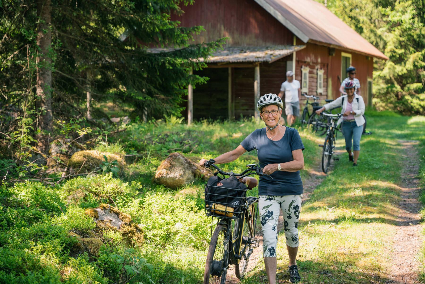 Cykla i Mullsjö småland
