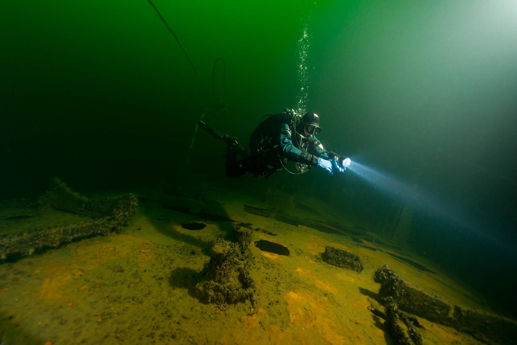 Dykning i Västervik