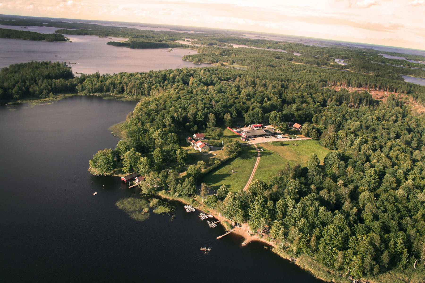Getnö Lake Åsnen Resort