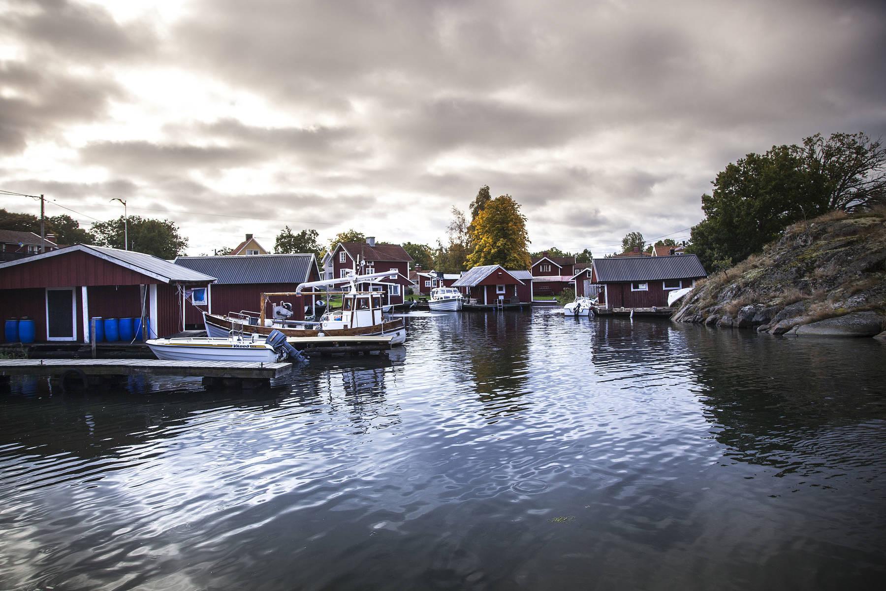 Hamn i Västerviks skärgård