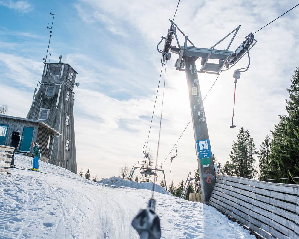 Vintertid på Isaberg