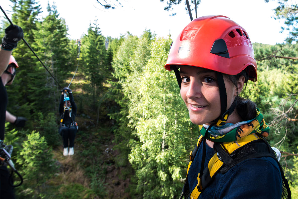 Äventyr i Småländska skogen