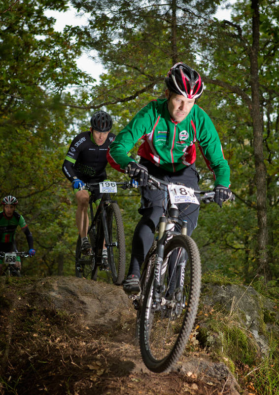 Mountainbike i Värnamo