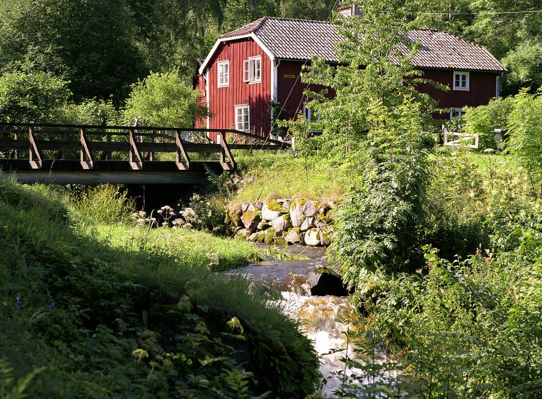 Röttle naturreservat, Gränna