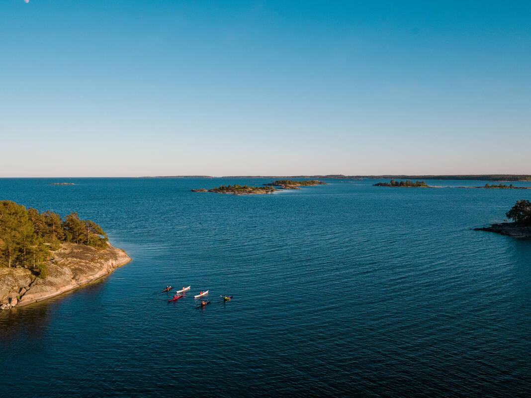 Kajakpaddling i Tjust skärgård, Västervik