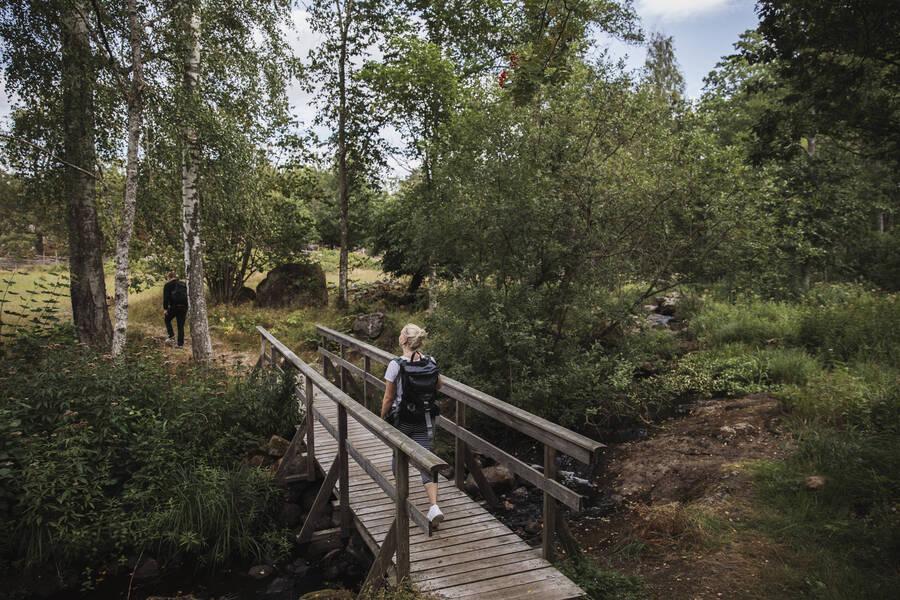 vandringsled i Småland