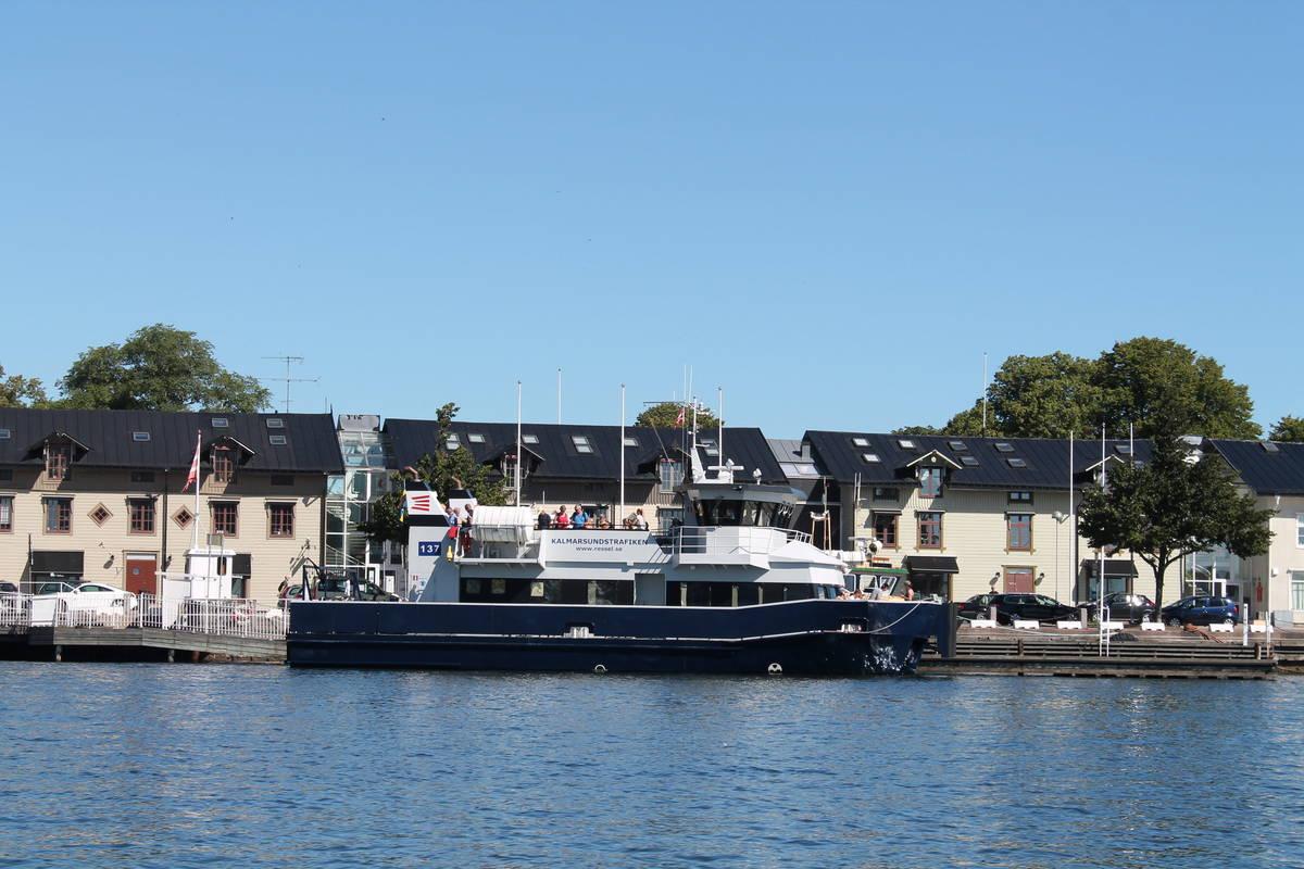 Ta cykelfärjan från Kalmar till Öland